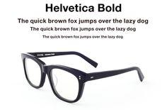"""Frizzifrizzi » Type, gli occhiali per """"tipofili"""""""