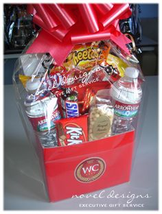 Custom Corporate Hotel Amenity Gift Baskets