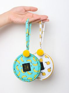 These cute pouches are great for carrying on daily basis! It has small enough size to be comfortably fit anywhere, but big enough size to carry all your necessary items!
