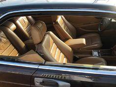 Mercedes Benz W126 560SEC interior