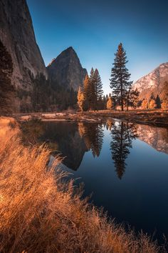 Reflection perfect Yosemite [OC] jamesliuu November - Photography, Landscape photography, Photography tips Outdoor Photography, Landscape Photography, Nature Photography, Travel Photography, Photography Tips, Digital Photography, Beautiful World, Beautiful Places, Beautiful Scenery
