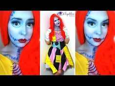 Sally Nightmare Before Christmas Makeup Tutorial & Costume with EyedolizeMakeup - http://47beauty.com/sally-nightmare-before-christmas-makeup-tutorial-costume-with-eyedolizemakeup/   				  Get Beauty Tips on Twitter  Fraeky Friday time! Today I show you how to create this Sally from the Nightmare before Christmas look and I've paired it with this awesome costume from Costumes.com.au Check out their costumes: Costumes.com.au http://www.costumes.com.au/?tm_source=Ey