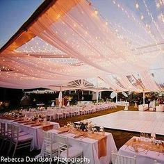 This fairy lights canopy. | This Couple Tried Pinterest DIYs For Their Indian Wedding And They Totally Worked