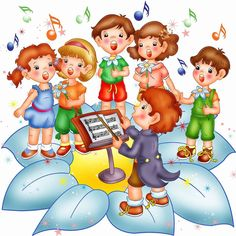 School Wall Painting and Interior Decoration: Play School Wall Painting Service Bhopal,School Wa. Music Clipart, Cute Clipart, Cartoon Painting, Artist Painting, Snow Theme, School Cartoon, School Painting, Kids Room Paint, Human Drawing