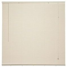 Project Source 1-In Ivory Vinyl Room Darkening Mini-Blinds (Common 64.5-In; Actual: 64.5-In X 64-In) Cdrd6664b-64.5