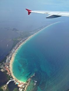 Cancun from the air