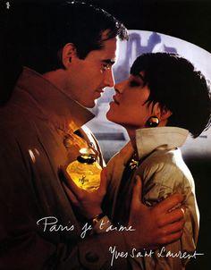Yves Saint-Laurent -  1986 - Paris je t'aime.