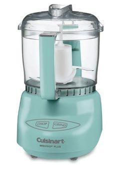 cuisinart mini food processor in tiffany blue to match! $42