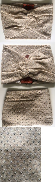 Hair Accessories 45220: Nwt Authentic Missoni Beige Silver Dots Turban Headband 1 Size Made In Italy -> BUY IT NOW ONLY: $95 on eBay!