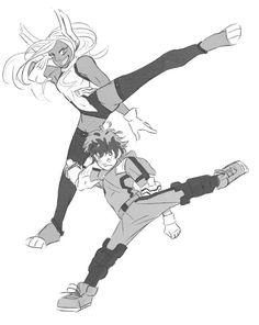 ok but hear me out: - midoriya kicks- miruko probs kicks too (i mean, bunny quirk?)- midoriya starting to base his movements off miruko's fightin. deku gets yet another parent My Hero Academia Episodes, My Hero Academia Memes, Hero Academia Characters, My Hero Academia Manga, Anime Characters, Sucubus Anime, Deku Anime, Boku No Academia, Buko No Hero Academia