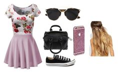 """Untitled #14"" by sophie9278 ❤ liked on Polyvore featuring Converse, Givenchy, Christian Dior and Johnny Loves Rosie"