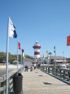 Hilton Head and Sea Pines Light House  Harbour Town