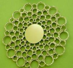 Espelho quase mágico... - * Decoração e Invenção * - http://decoracaoeinvencao.blogspot.com.br/2011/08/espelho-quase-magico.html