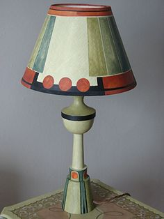 Omega Lamps This base is inspired by a lamp produced by the Omega Workshops in 1913. VASE Oval Room base £96 10″ EMPIRE shade £60 MOSAIC red base £96 10″ EMPIRE shade £70 SHELL base £96…