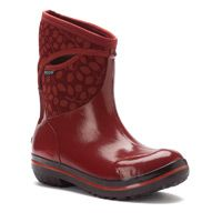 Women's Bogs Plimsoll Mid Leaf - holey moley these are FUN and CUTE!
