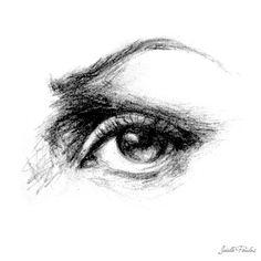 Eye Art, Big Eye Art, Eye Drawing, Fine Art Print, Eye Illustration, Drawing Sketch, Wall Art, Prints Illustrations, Home Decor