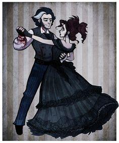 Mrs. Lovett's last dance by ~hanime87 on deviantART