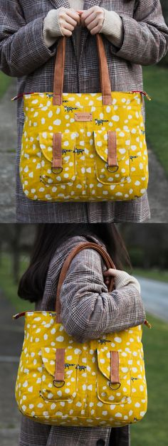 Maggie Bag PDF Pattern - ithinksew.com