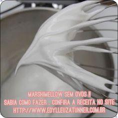 Bom dia !! De adeus ao cheirinho desagradável de ovos em seu marshimellow aprenda a fazer esse delicioso marshimellow livre de ovos !! #culinaria #culinary #culinária #culinaryarts #receitas #receita #receitadodia #receitafacil #marshmallow #marshallmathers #doce #doces #docesfinos #doceria #novidades #novidade #mulher #cozinha #cozinhar #recheio #bomdia #blog #blogger #blogg #bloggers #donadecasa #confeitaria #confeiteira @acucaruniao @receitas_basicas by edylleuzatunner…