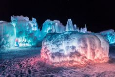 You Will Never Forget Your Visit To These Little Known Colorado Ice Castles