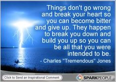 Motivational Quote by Charles ''Tremendous'' Jones