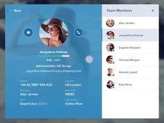 Dashboard UI (Team Messages)