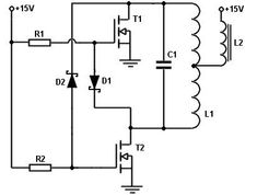 Showthread together with Induction Heating in addition Ignition Coil Driver Wiring Diagram further Tesla Wiring Schematics furthermore Index php. on induction coil driver
