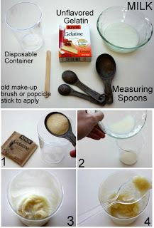 Homemade Pore Cleaner.. I'll give it a try!