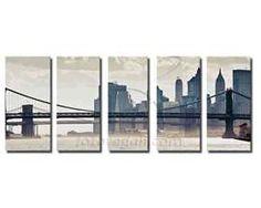 Prezzi e Sconti: #Tela in 5 pannelli panoramici  ad Euro 4.99 in #Fotoregali #Stampe quadri moderni