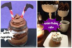 Halloween Cupcakes: Witch - Inspired by Familia