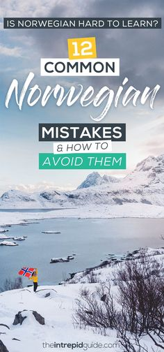 Is Norwegian Hard to Learn? 12 Common Norwegian Mistakes and How to Avoid Them Best Language Learning Apps, Learning Languages Tips, Learning Resources, Language Quotes, Language Study, Learn A New Language, Norwegian Words, Weekend City Breaks, Travel Around Europe