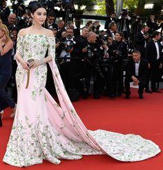 Fan Bingbing in Ralph Russo Cannes 2015