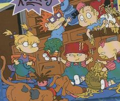 "All the ""Rugrats""  babies were voiced by women. 