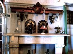 Lighting, mantels, salvaged architectural remains and more! The displays at Restoration Resources are a must-see!