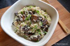 Orez cu ciuperci reteta simpla si gustoasa. Ce tip de orez alegem? Cat fierbem orezul? Care sunt diferentele dintre risotto, pilaf si orez simplu cu legume?