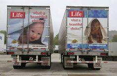Pro-life trucking company NICE!!