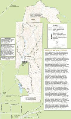 Brushy Peak Trail Map