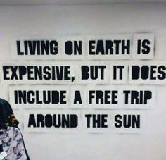 #Free trip around the #Sun