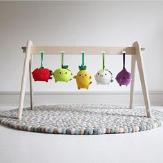 Great picture from our new retailer @littlegoldieshop  #loullou #1stplay #babygym #fsc #wood #naturalearthcolors