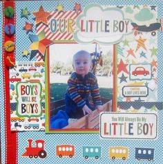 Layout: Our Little Boy