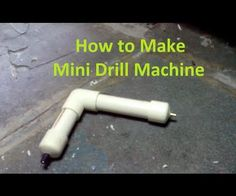 how to make a drill machine at home easy