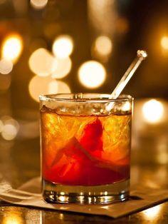 Honey Bourbon Old Fashioned - TownandCountrymag.com
