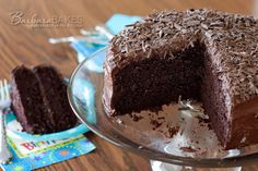 Buttermilk and a hint of espresso are the secrets to this Black Magic cake. A moist, rich, deep, dark chocolate cake perfect for a special occasion or any day at all.