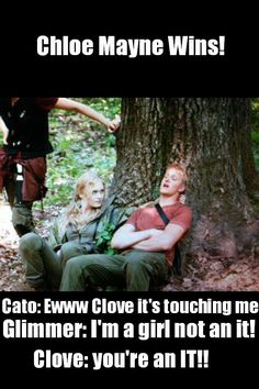 Glimmer AND Clove, step away from Cato.