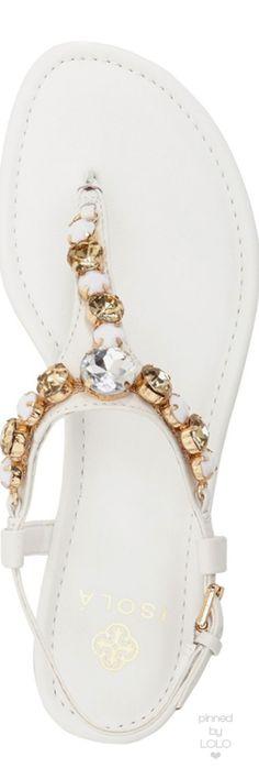 Isolá 'Monica' Crystal Embellished Sandal | LOLO❤︎