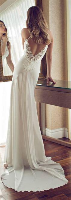 a-line wedding dress floor-length dress
