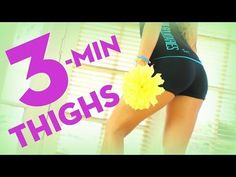 ▶ 3 Minute Thighs | POP Pilates Song Challenge - YouTube
