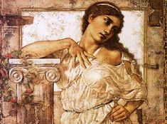 Picture of Flora, Roman goddess of flowers