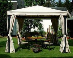 Amazing Leco Luxus Garten Pavillon Sahara inkl Seitenteile Festzelt