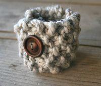 Ravelry: Simple Cuff Bracelet Knitting Pattern pattern by Grizzlie Knits